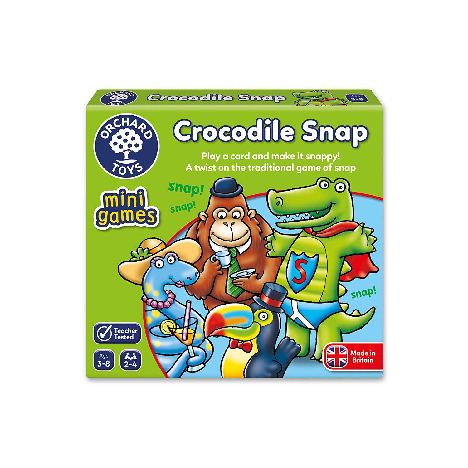 Crocodile Snap Mini Game by Orchard Toys