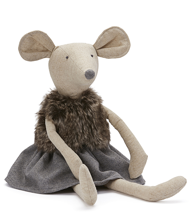 Maggie Mouse ~ Doll by NANA HUCHY