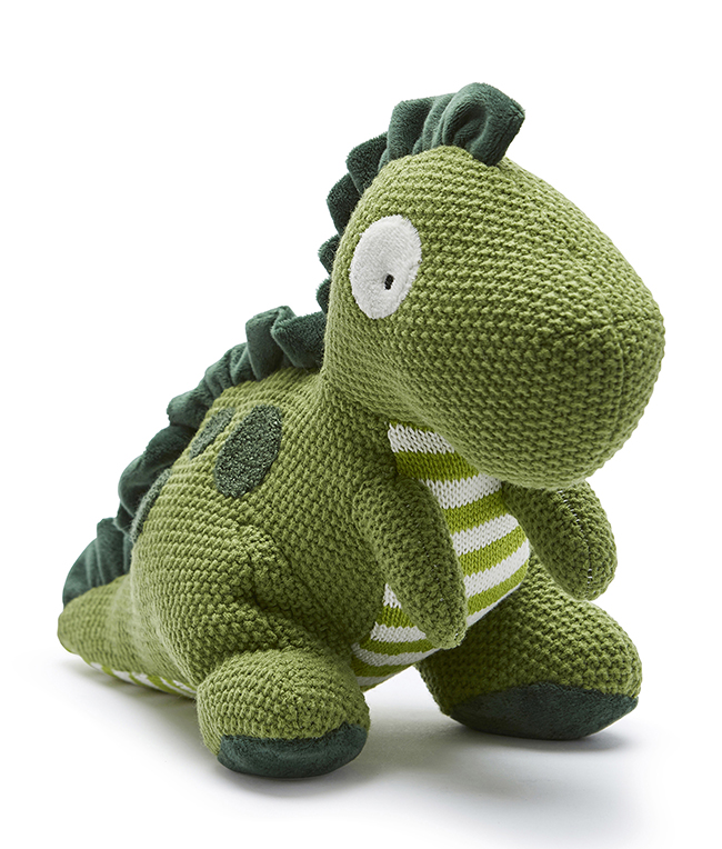 Big Dodger the Dino cuddly toy by NANA HUCHY