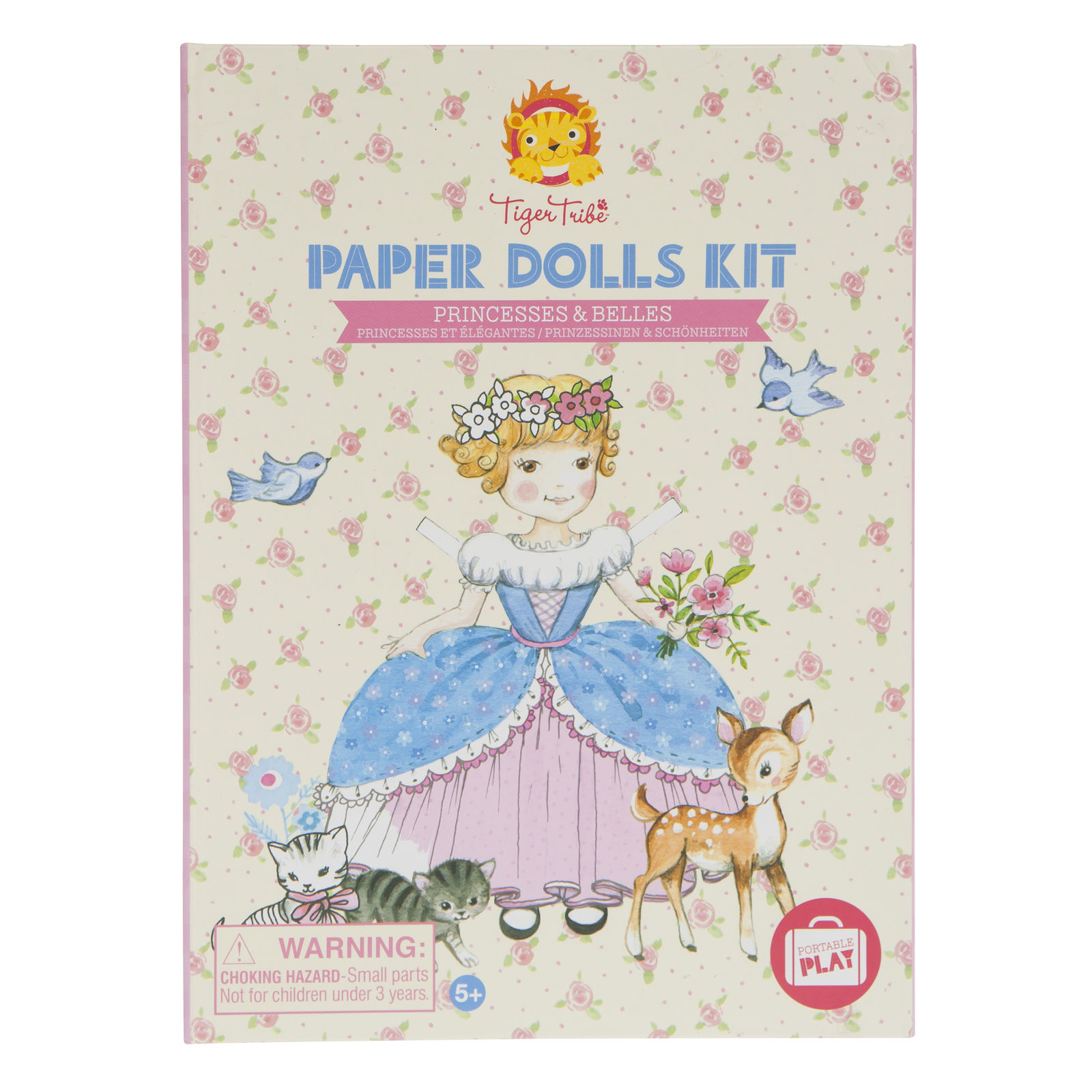 Paper Dolls Kit - Princesses & Belles by Tiger Tribe 5+
