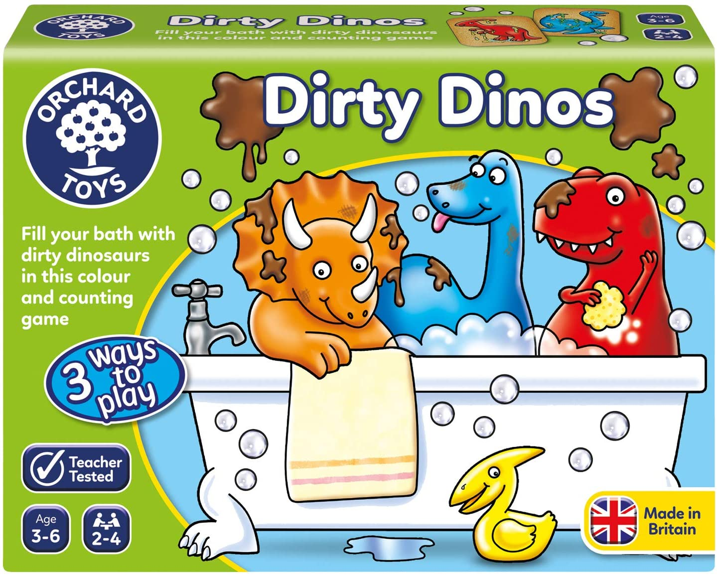 Dirty Dinos by Orchard Toys 3 ~ 6