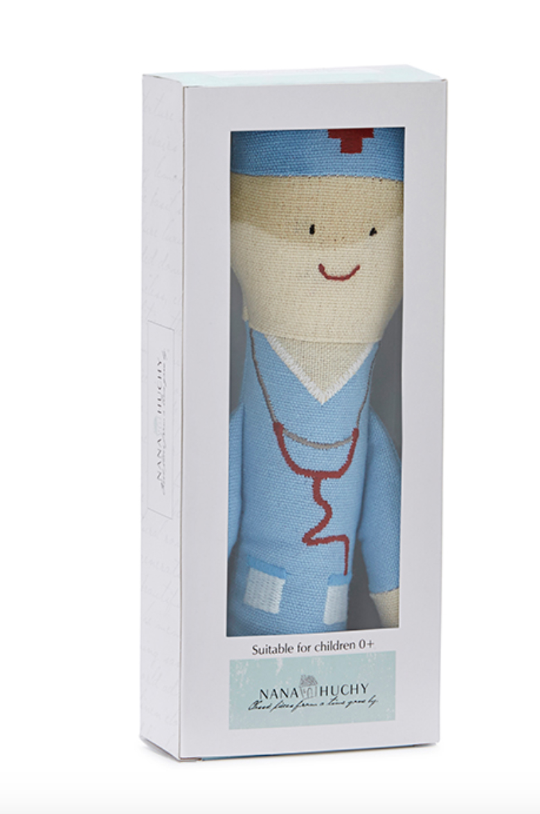 Doc Goss Baby Rattle by NANA HUCHY