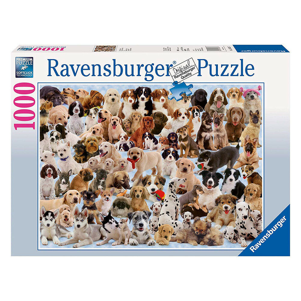 Ravensburger - Dogs Galore Jigsaw Puzzle 1000pc