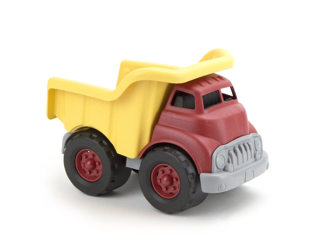 Green Toys ~ Dump Truck in Red & Yellow 1+