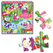 eeboo 64pc puzzle ~ Fairies by the Pond