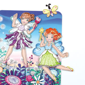 Magnetic Mudpuppy Design Play set Fairies