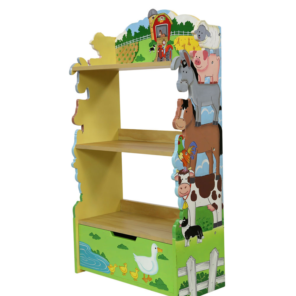 Farmyard Bookcase by Teamson