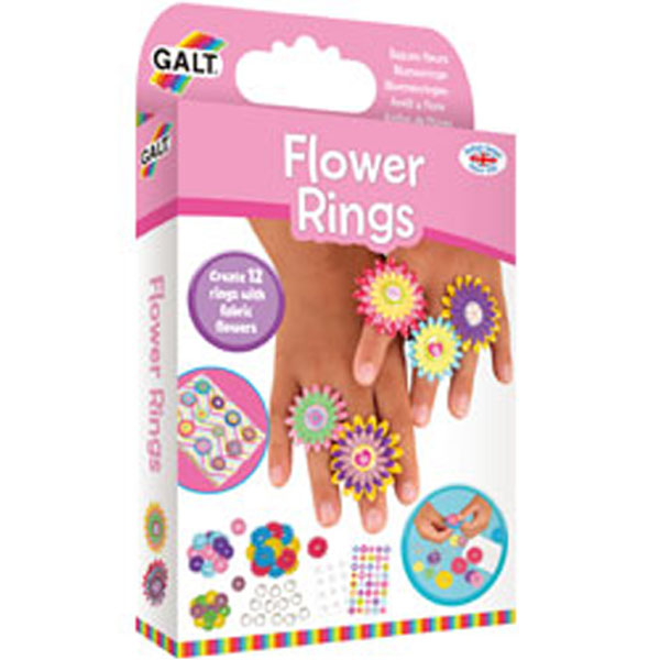 Galt ~ Flower Rings ~ Craft Kits 6+
