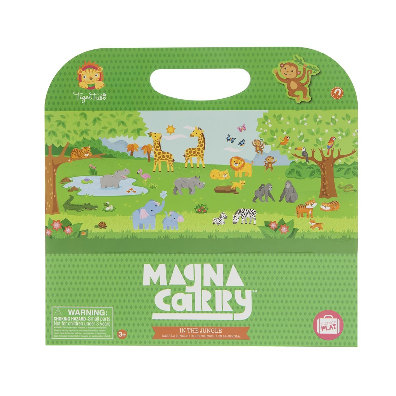Magna Carry - In the Jungle ~ Magnetic Sets by Tiger Tribe