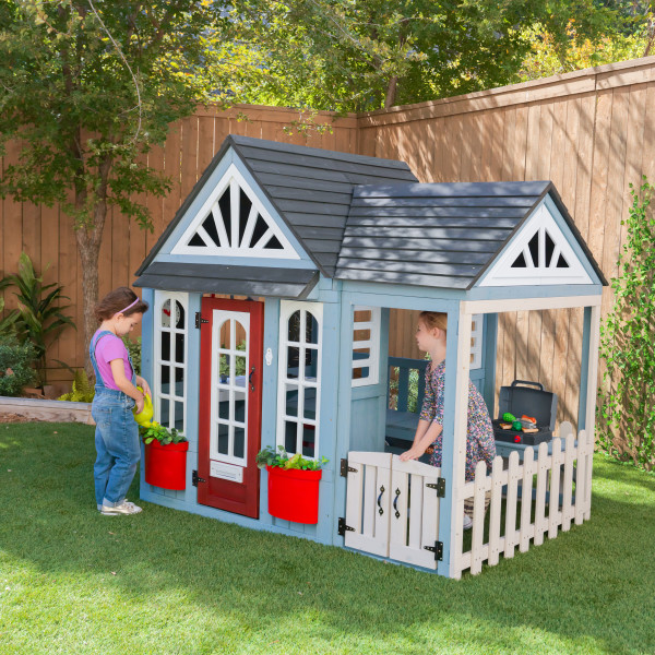 Wooden Timber Trail Wooden Outdoor Playhouse by Kidkraft