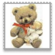 Personalised Christmas Baubl Bear Design O3