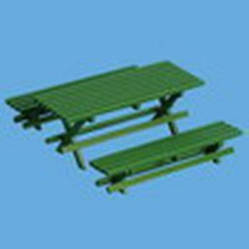 Miniature -- Garden Furniture - Outdoor Table & Chairs