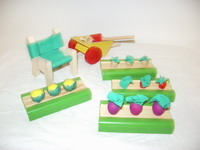 Garden set accessories for Doll Houses