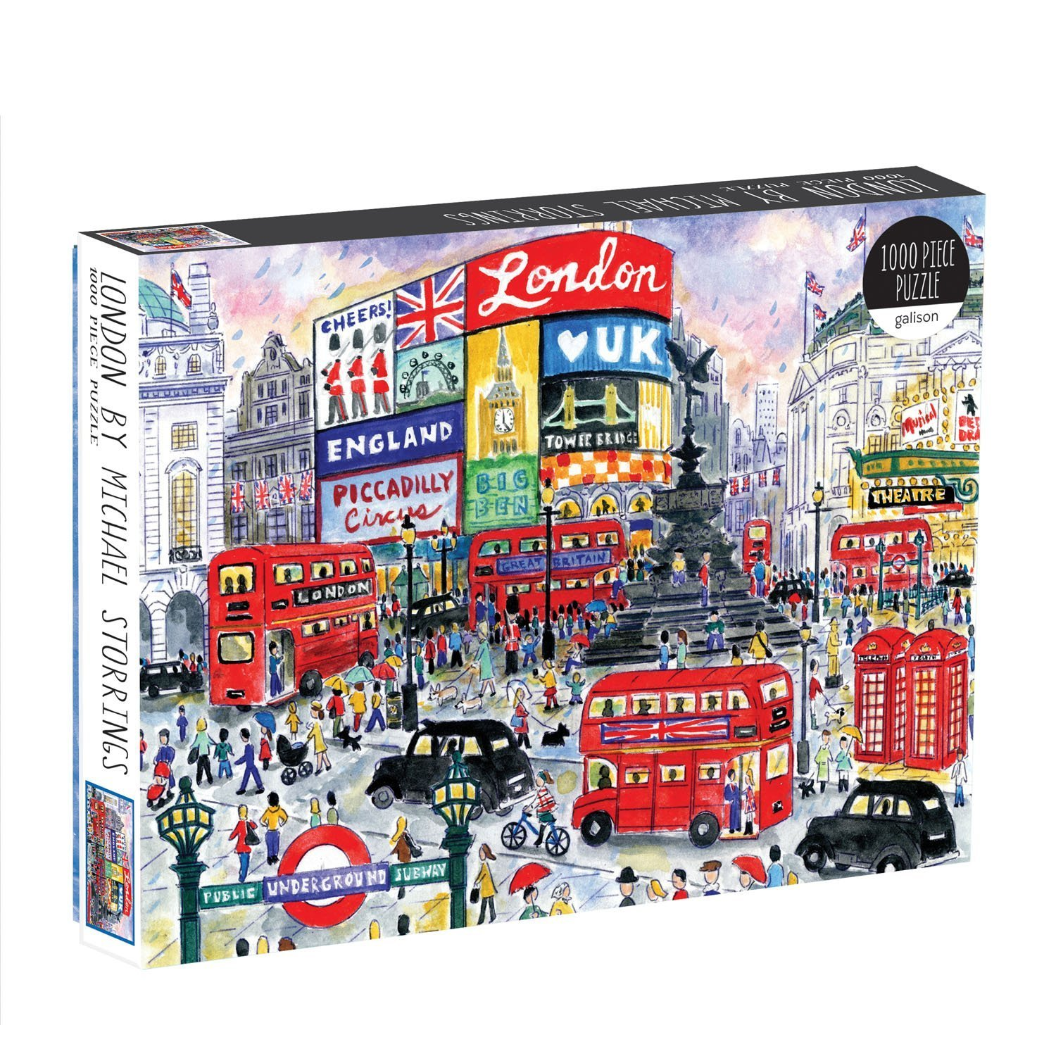 Michael Storrings London 1000 Piece Puzzle by Galison