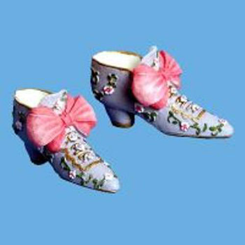 Miniature  Shoes-Mauve/Pink