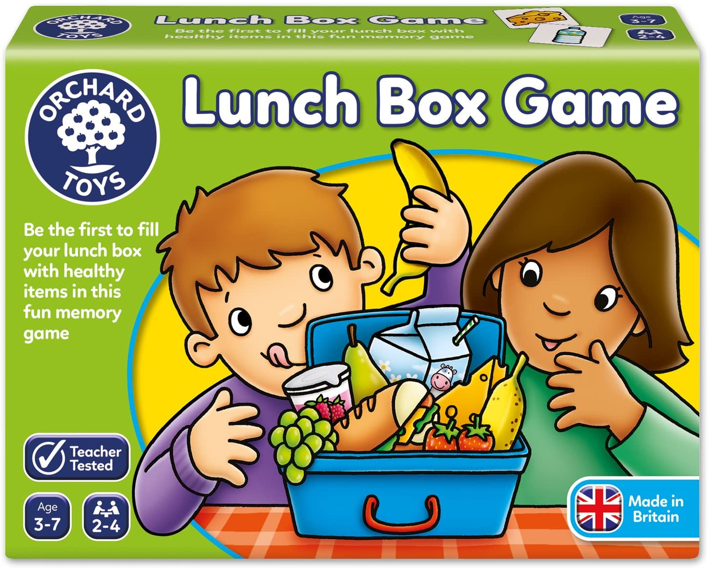 Lunch Box Game by Orchard Toys 3 ~ 7