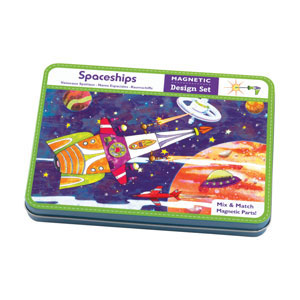 Mudpuppy -- Magnetic Design Play set -- Spaceships