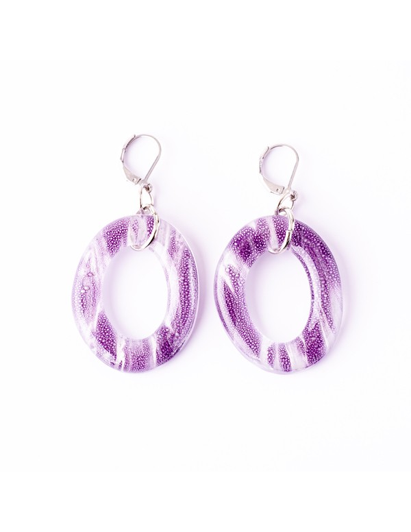 Violet Marie Earrings by Cristalida