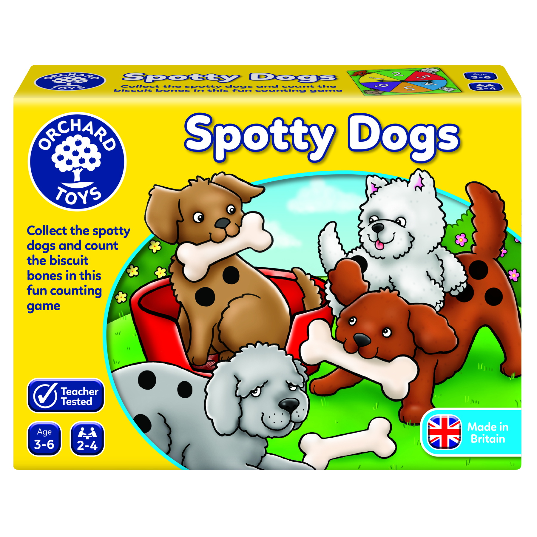 Spotty Dogs Game by Orchard toys  3+