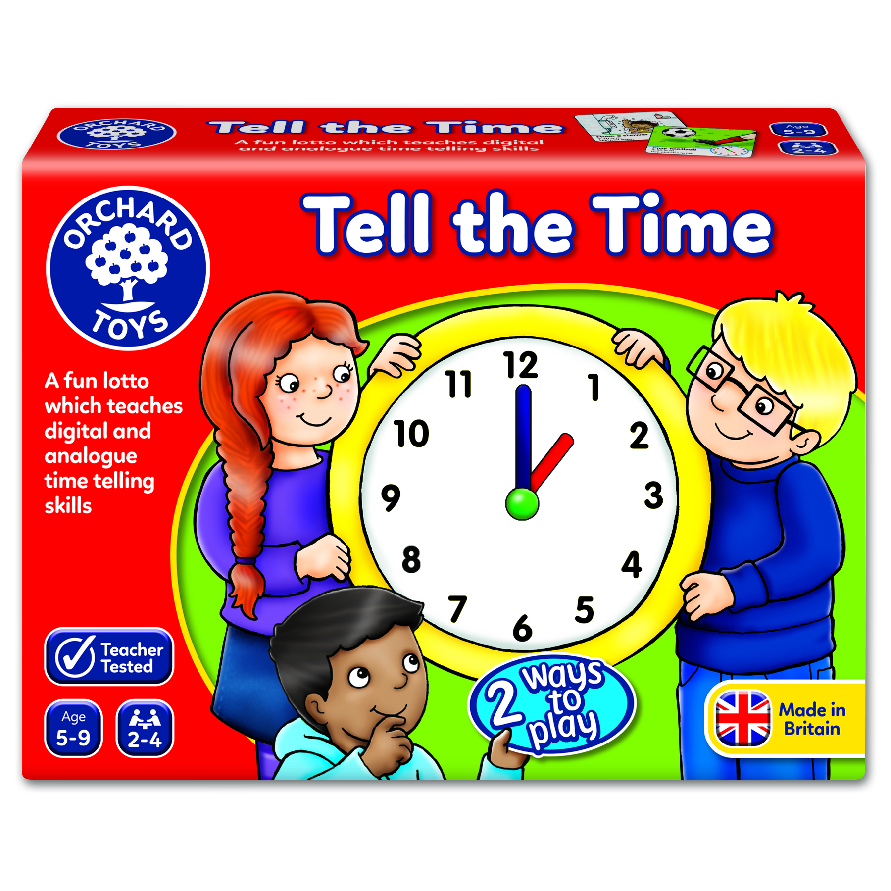 Tell the time Lotto by Orchard Toys 5 ~ 9
