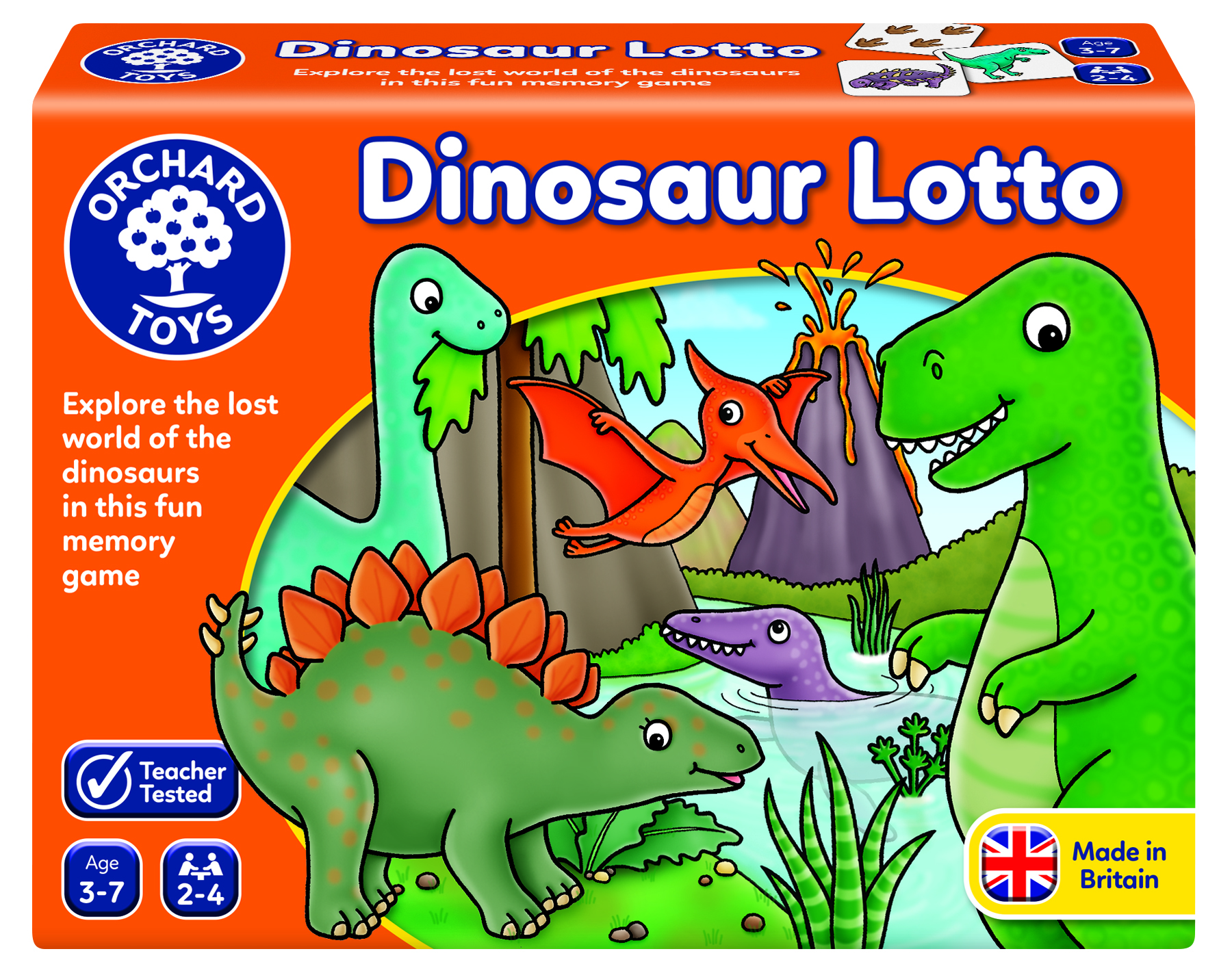 Dinosaur Lotto by Orchard Toys 3 ~ 7