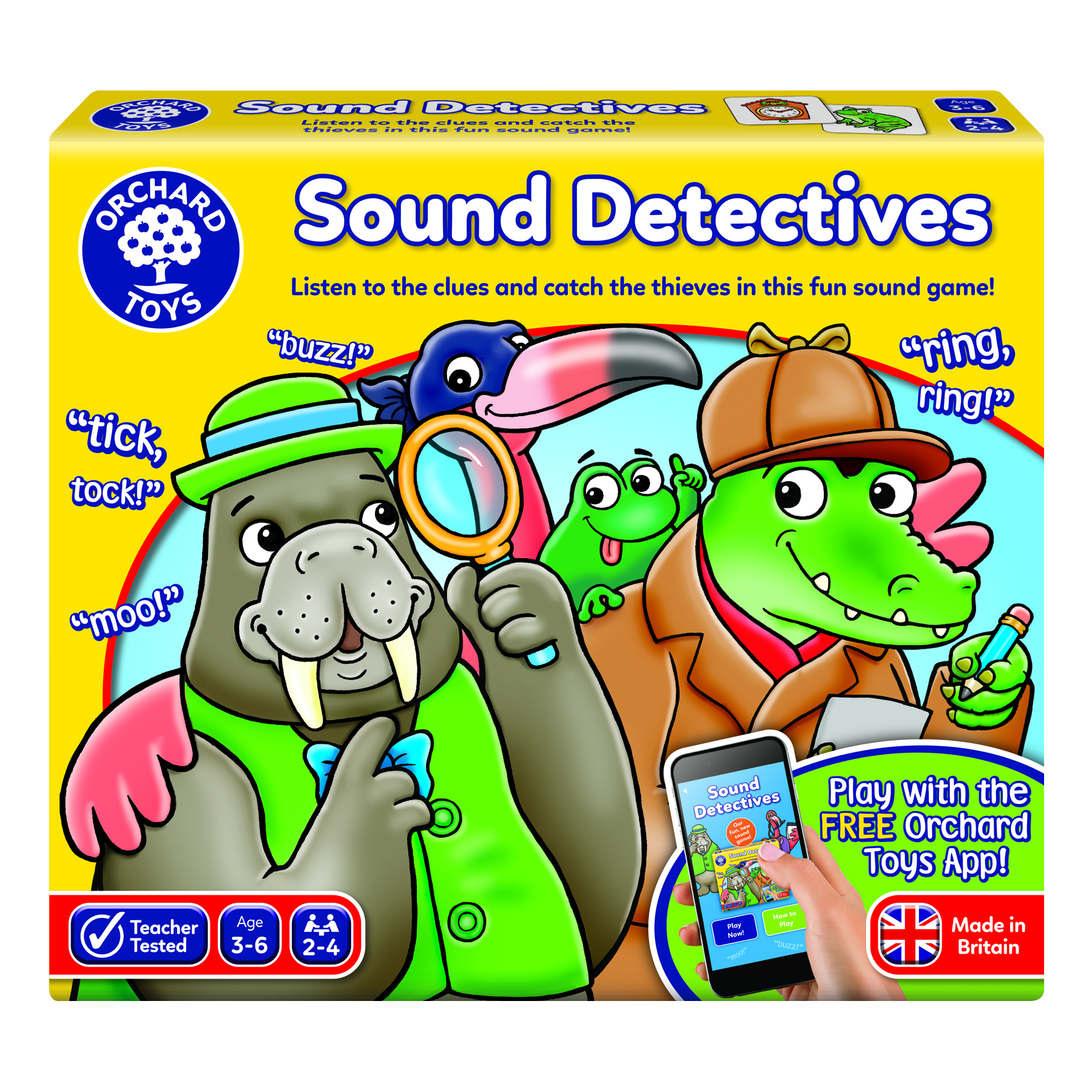 Sound Detectives by Orchard Toys