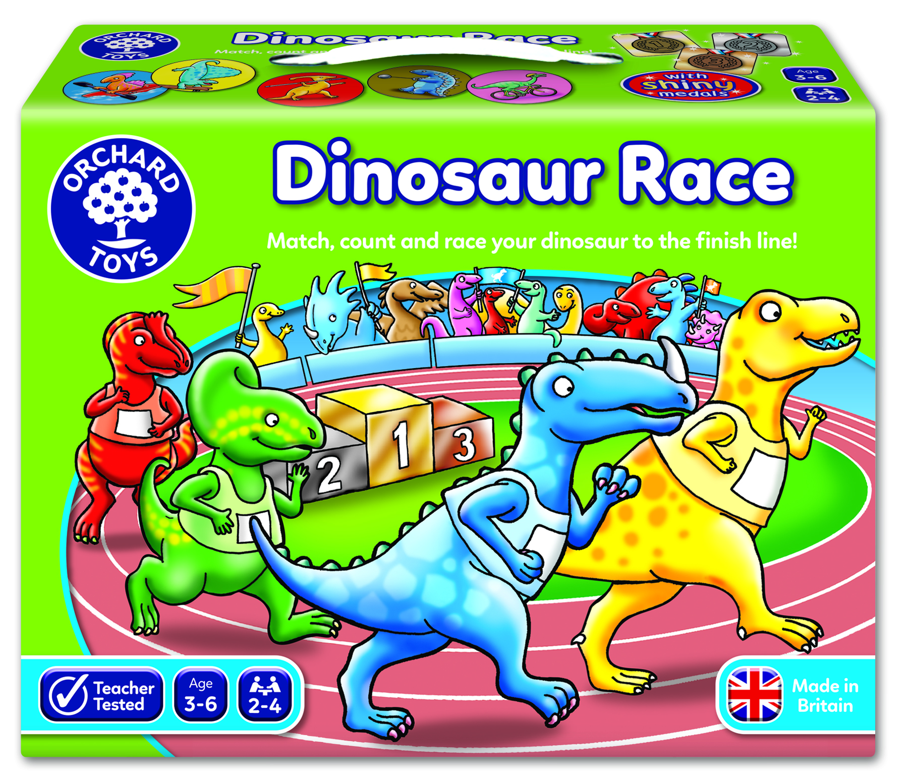 Dinosaur Race by Orchard Toys 3 ~ 6