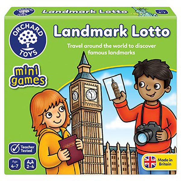 Landmark Lotto Mini Game by Orchard Toys 4+