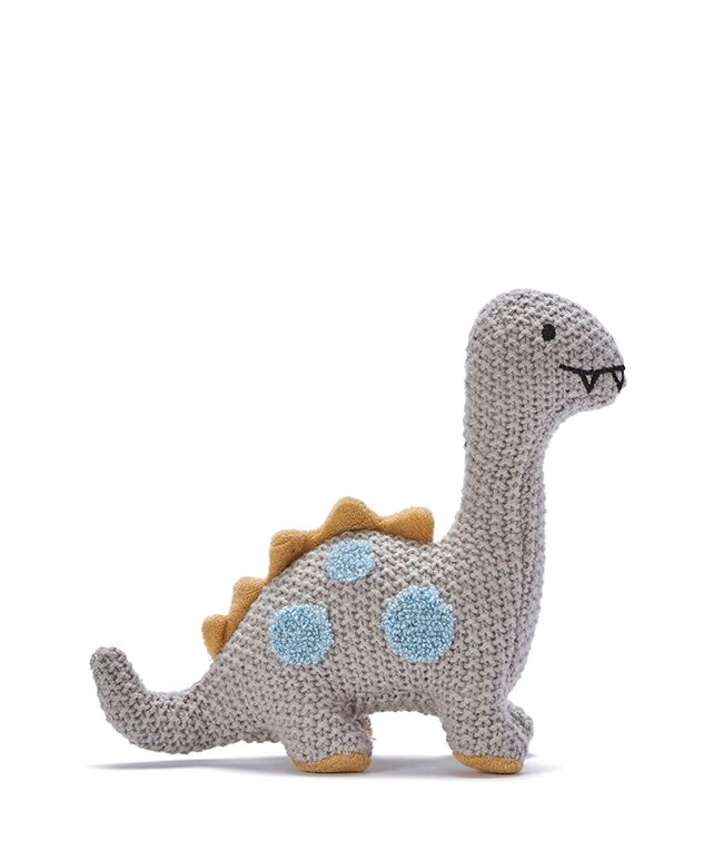 Otto the Dino Baby Rattle by NANA HUCHY