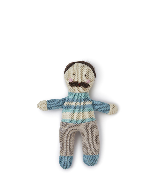 Papa Baby Rattle by NANA HUCHY