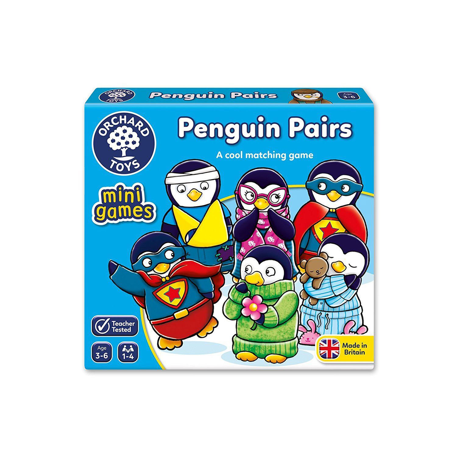 Penguin Pairs Mini Game by Orchard Toys
