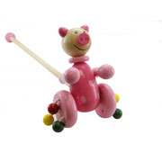 Push-A-Long Pig by Kaper Kidz