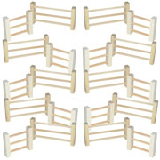 Wooden Fence set - extension of pretend play