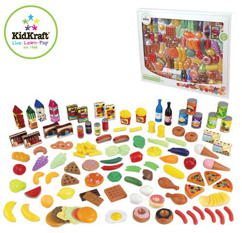 Pretend Play Food -- Deluxe Tasty Treats -- by Kidkraft