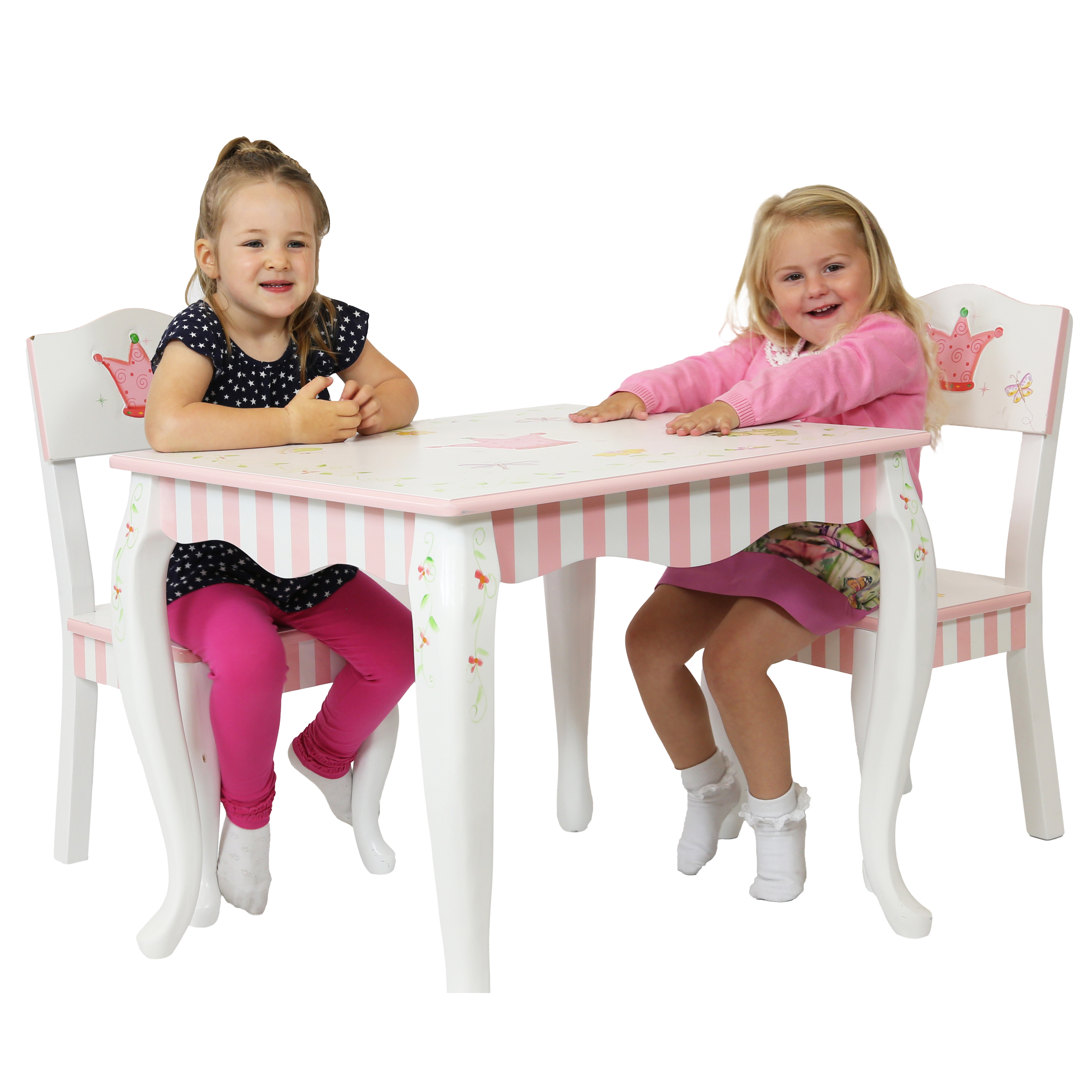 Princess Frog Table Chairs By Teamson Fantasy Fields Flair Original
