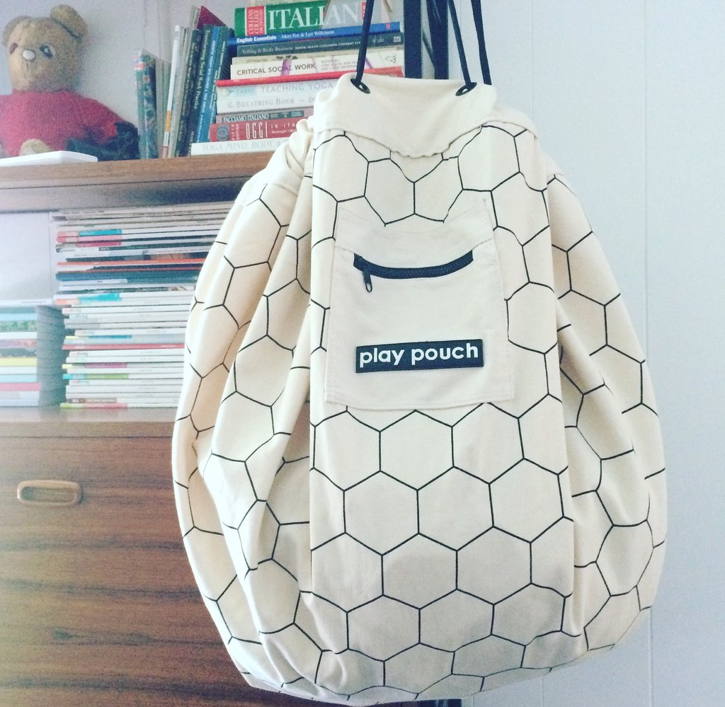 Play Pouch with Honeycomb Design