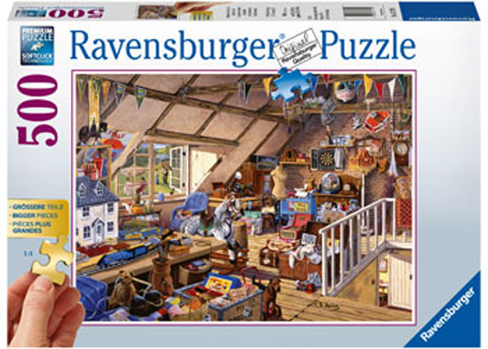 Ravensburger - Grandmas Attic Jigsaw Puzzle 500pc