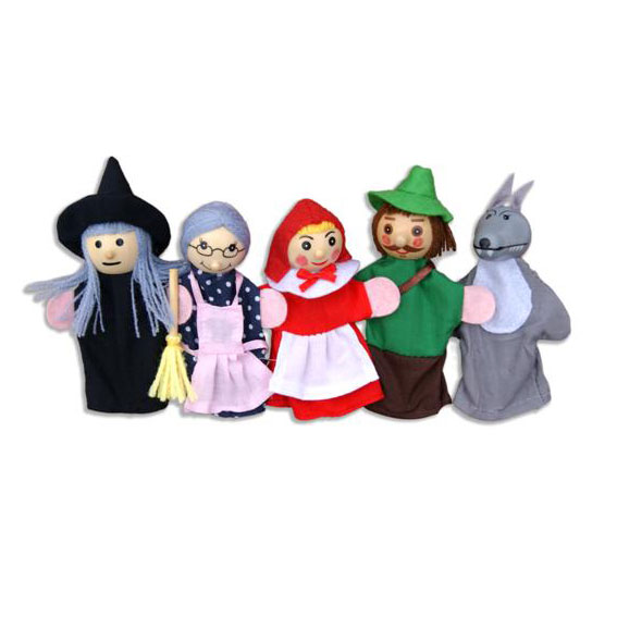 Finger puppets ~ Red Riding Hood by Fun Factory