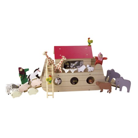 Wooden Noah's Ark by Timbertop Toys
