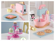 3 KidKraft Kitchen Sets for your young Master-chef at heart.....