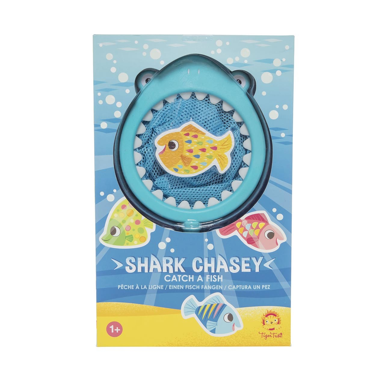 Bath Toys ~ Shark Chasey - Catch a Fish by Tiger Tribe