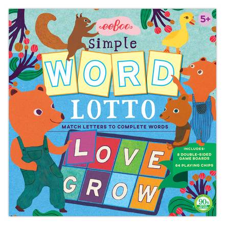 Simple Word Lotto by eeBoo