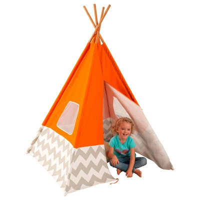 Orange Teepee by Kidkraft
