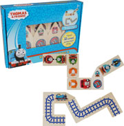 Thomas and Friends Wooden Dominoes & Track Puzzle by Tree Toys