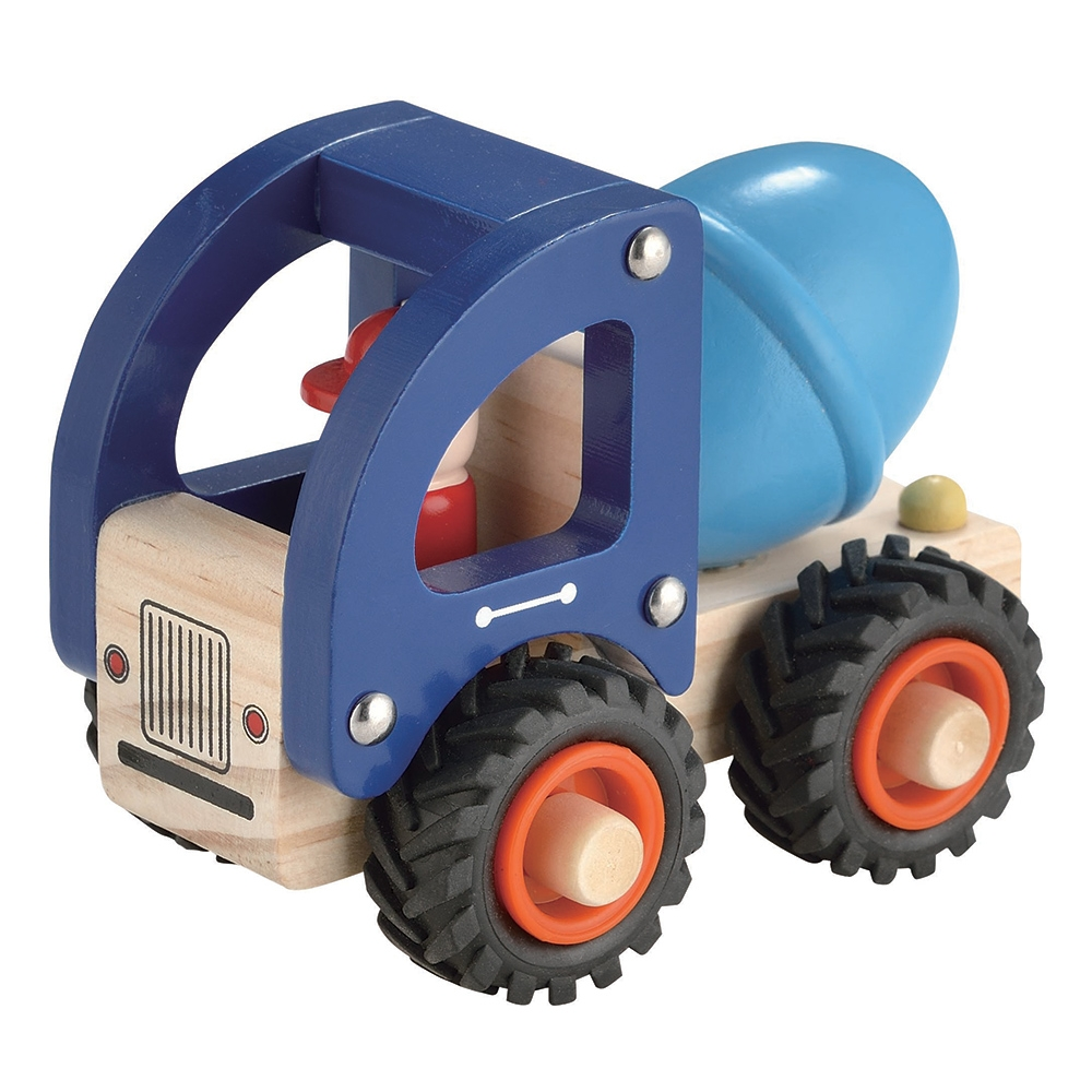 Wooden Truck ~ Concrete Truck by Toyslink