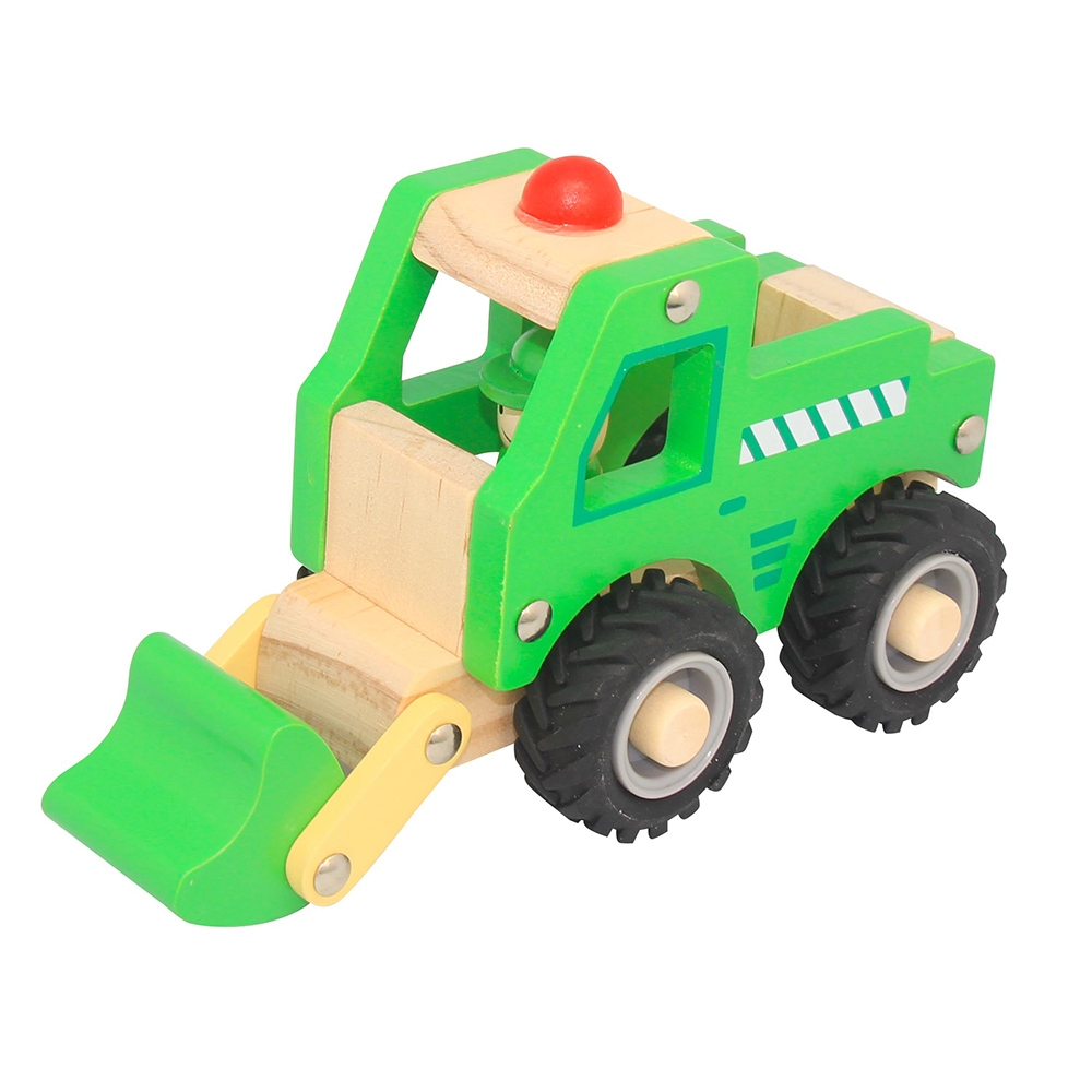 Wooden Truck ~ Digger by Toyslink