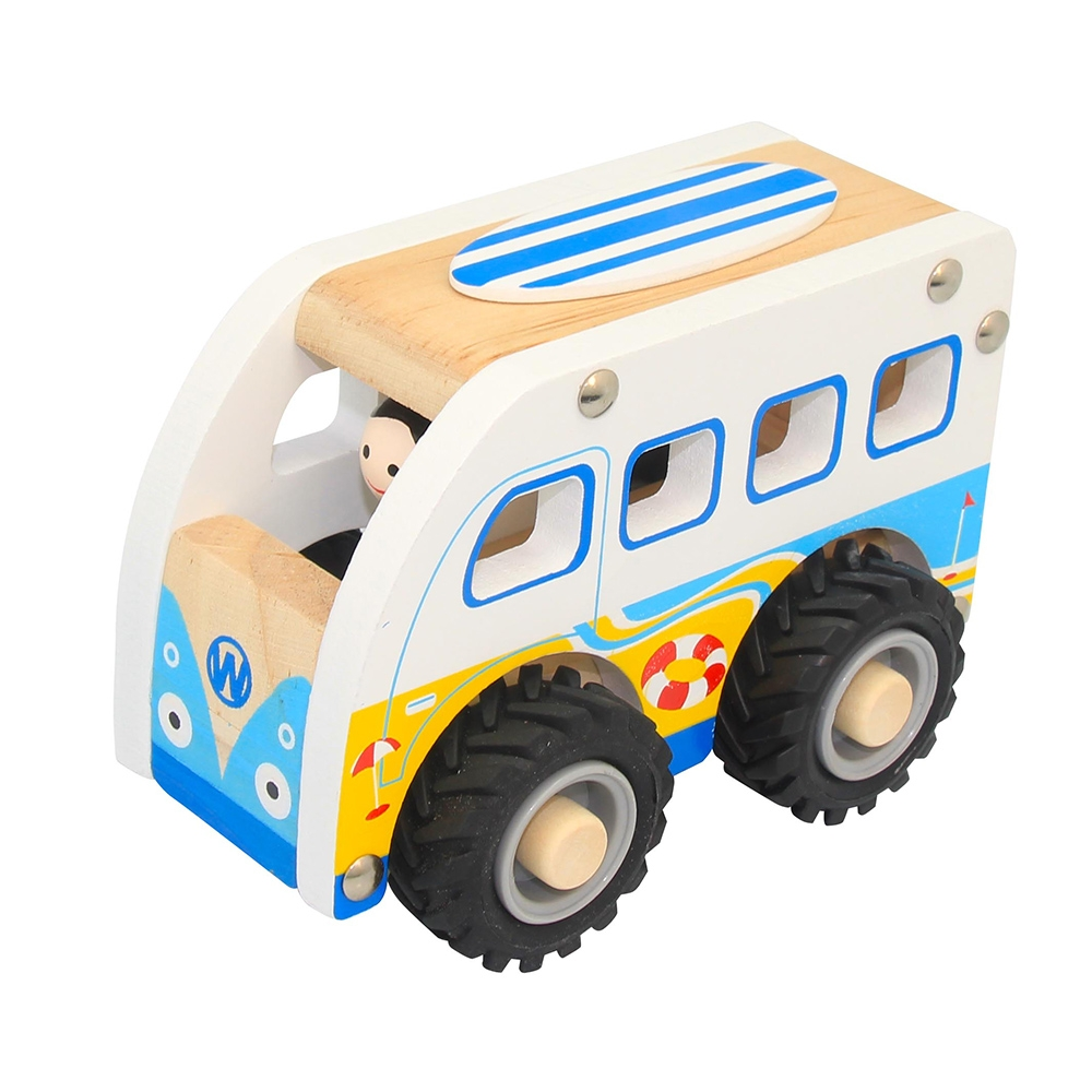 Wooden Truck ~ Blue Combi by Toyslink