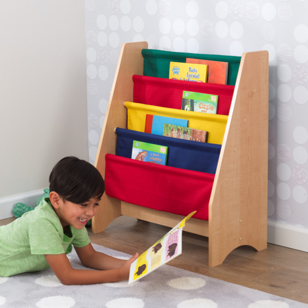 Wooden Sling Bookshelf by Kidkraft -- Primary