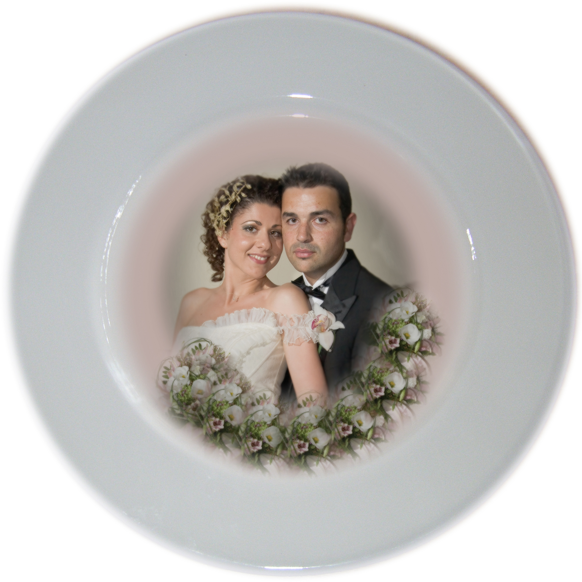 Wedding, Aniversay,Engagement Photo Plate