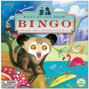 eeboo - Bingo game - what do you know?